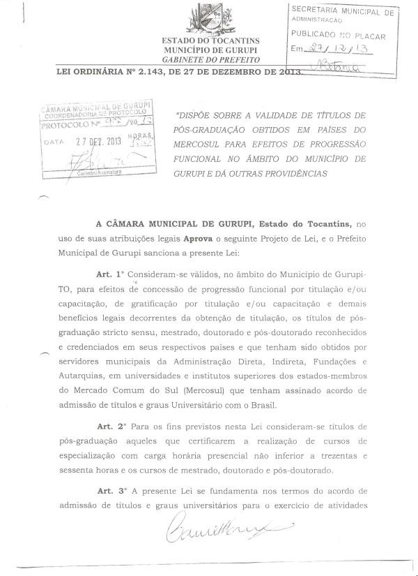 Câmara aprova lei que garante validade de títulos de pós-graduação no Mercosul