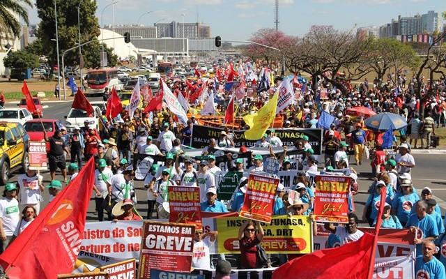 Servidores públicos realizam jornada de lutas no mês de setembro em Brasília