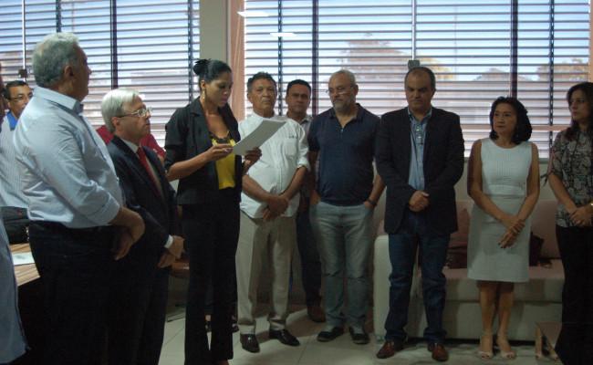 Representantes da Apug-Ssind foram empossados no Conselho Curador