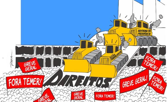 CCJ deve votar contrarreforma Trabalhista nesta quarta-feira (28)