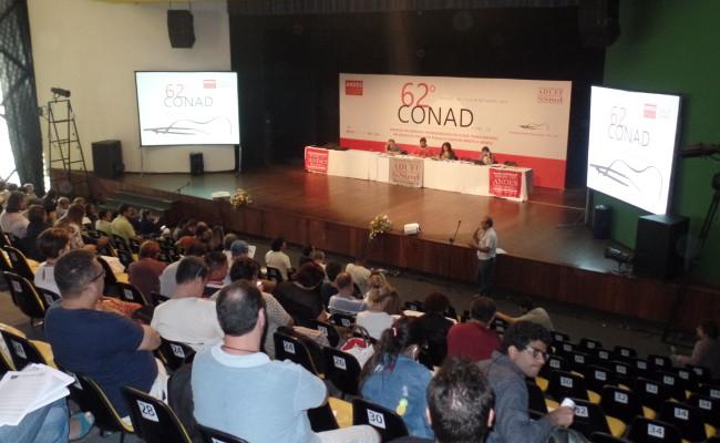 62º Conad define defesa de eleições diretas e gerais já, com novas regras