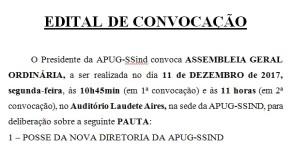 Convocação Posse Nova Diretoria_17_19