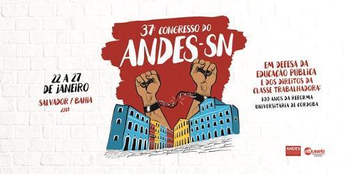 ANDES-SN divulga Anexo ao Caderno de Textos do 37° Congresso