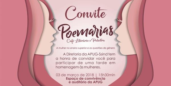 Debate sobre a situação da mulher no ensino superior acontece neste sábado na Apug-Ssind