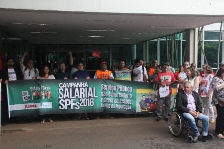 Servidores Públicos Federais lançam Campanha Salarial de 2018