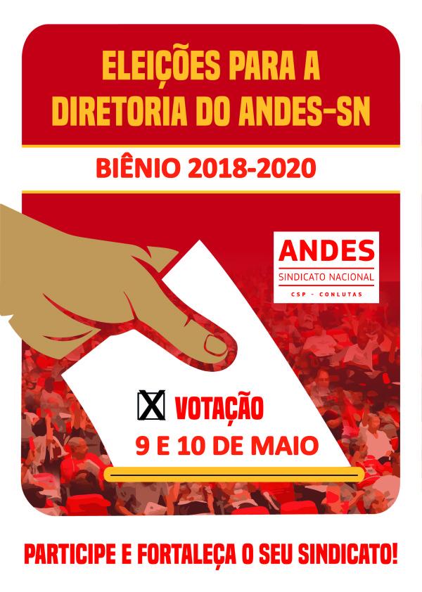 Comissão eleitoral homologa chapas para a eleição da diretoria do ANDES-SN