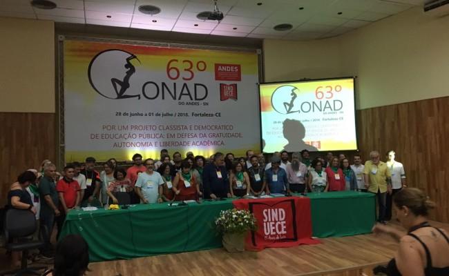 Apug-Ssind presente no 63º Conad do Andes em Fortaleza