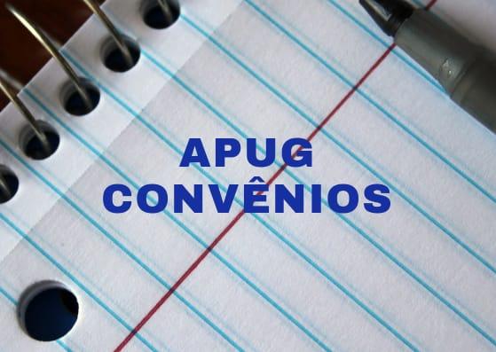 APUG DIVULGA LISTA DE CONVÊNIOS DISPONÍVEIS AOS PROFESSORES FILIADOS