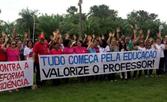 Mobilização em Gurupi no Dia Nacional de Luta em Defesa da Previdência