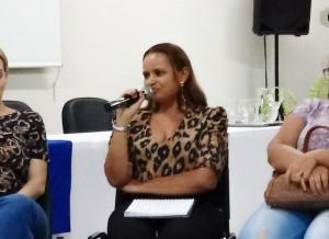 Rosenildes Dias, Coordenadora do CDHC.