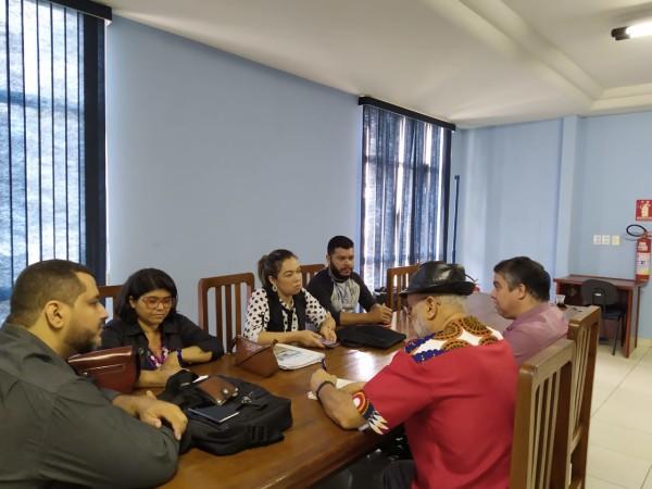 Reunião entre APUG, Asaunirg e Reitoria: Confraternização Natalina e Pauta de Negociação de 2020