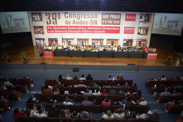 APUG no 39º Congresso Nacional do ANDES-SN: confira informações do primeiro dia
