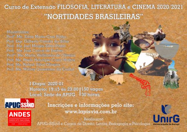 Projeto de Extensão FILOSOFIA, LITERATURA e CINEMA 2020-01 – Inscrições abertas