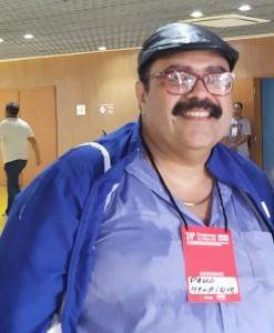 Ex-presidente da APUG, professor Paulo Henrique Mattos