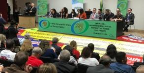 Frente Parlamentar Mista do Serviço Público foi relançada durante ato no Nereu Ramos