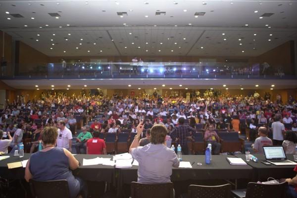 No encerramento do Congresso, Porto Alegre foi eleita para sediar o 40º Congresso do ANDES