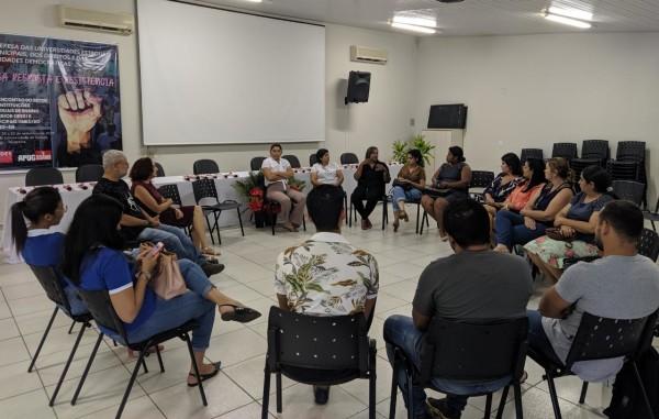APUG promove Roda de Conversa sobre a violência contra a Mulher