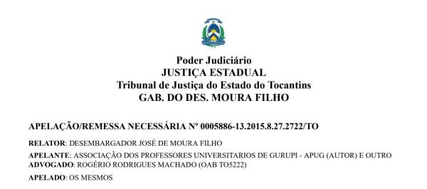 Tribunal de Justiça mantém decisão garantindo pagamento de Adicional Noturno aos professores da UnirG