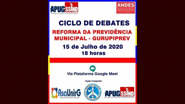 Apug, AsaUnirg e Sisemg  promovem Ciclo de Debates
