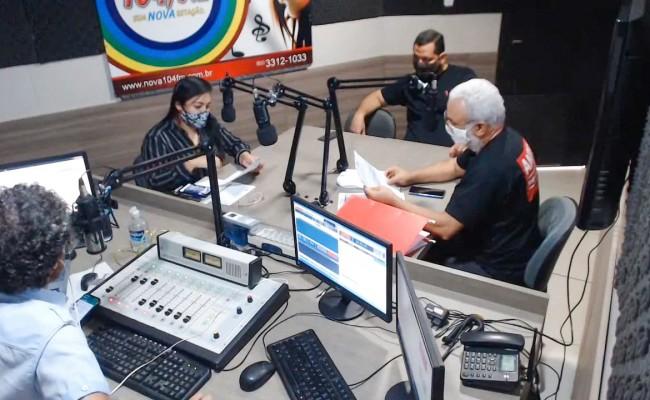 APUG, SISEMG E ASAUNIRG debatem Reforma da Previdência Municipal de Gurupi – GurupiPrev na rádio 104,9 Nova FM