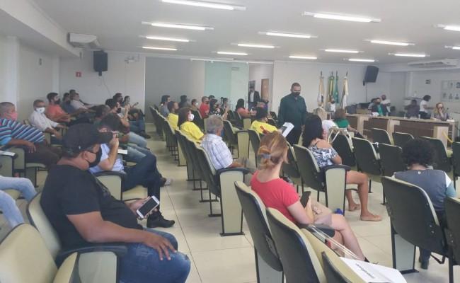 Servidores Municipais se manifestam contra Reforma da Previdência do GurupiPrev