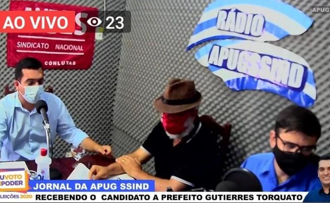 Gutierrez também promete autonomia e valorização do servidor público em entrevista a Rádio Apug