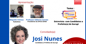 RÁDIO APUG ENTREVISTA JOSI NUNES