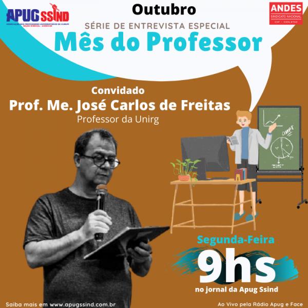 Semana do Dia do Professor terá atividades, entrevistas e brindes aos docentes sindicalizados