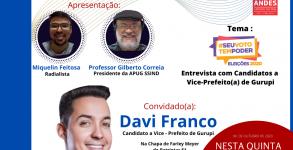 ENTREVISTA COM DAVI FRANCO