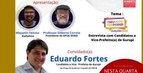 ENTREVISTA COM EDUARDO FORTES