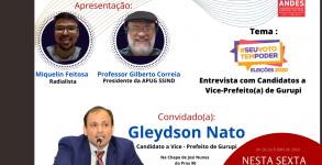 ENTREVISTA COM GLEYDSON NATO