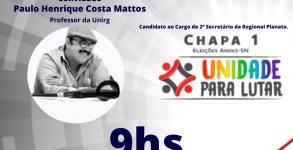 ENTREVISTA PAULO HENIRIQUE COSTA MATOS