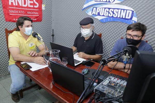 """Eduardo Fortes afirma que Gurupi terá """"dois prefeitos"""", durante entrevista na Rádio Apug"""