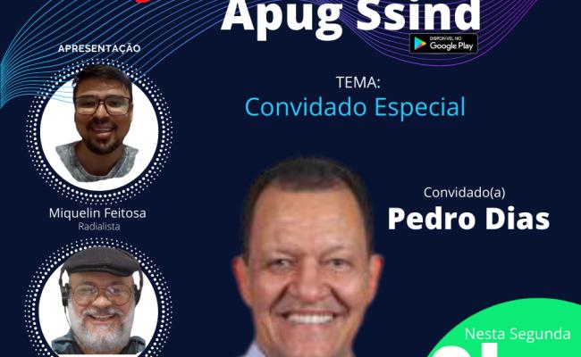 Rádio Apug entrevista Pedro Dias na segunda 23/11