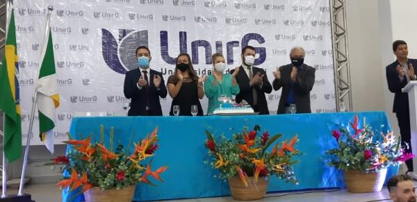 UnirG comemora 36 anos de criação com atividades artísticas e aulão de boas vindas