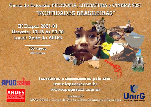 FILOSOFIA, LITERATURA e CINEMA 2021-01 abre inscrições e primeira edição será dia 20 de março